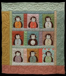 Lark Books - Monkey quilt