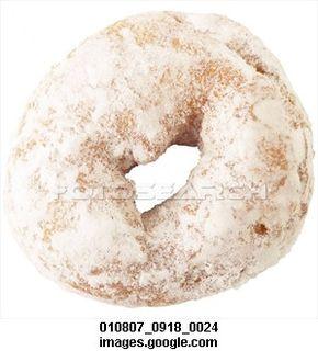 Powdered-sugar-donut