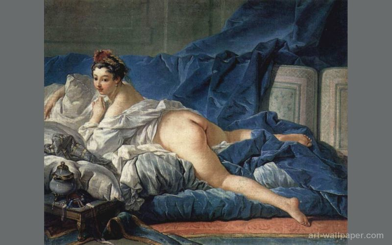Odalisque-Francois Boucher