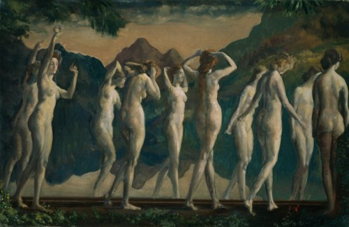 Maya, Mirror of Illusions c 1910 ArthurBDavies